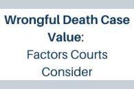 Orlando wrongful death case value
